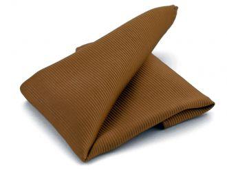 Pochet zijde NOS 12 - Bruin