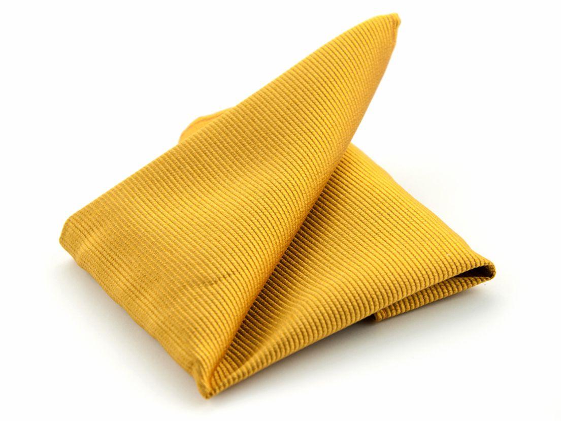 pochet zijde nos 13 goudgeel