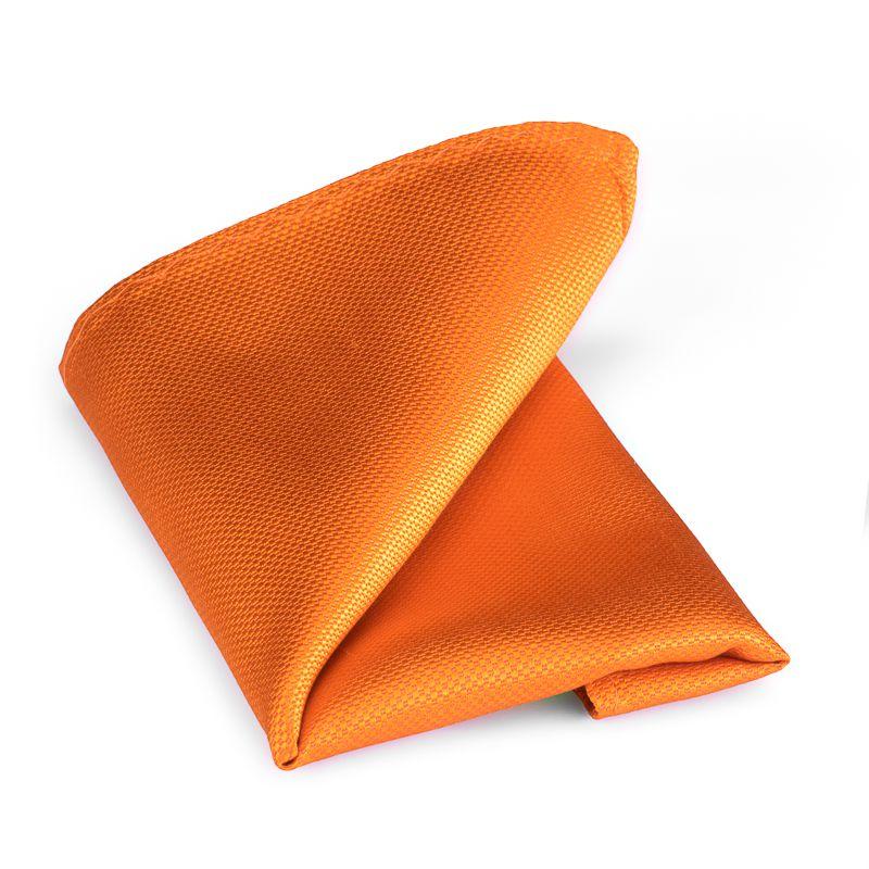 pochet zijde nos 13 oranje