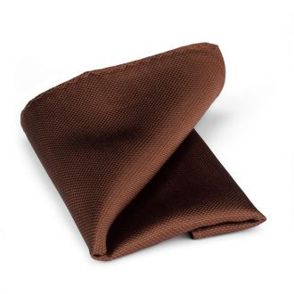 Pochet zijde NOS 18 - Bruin