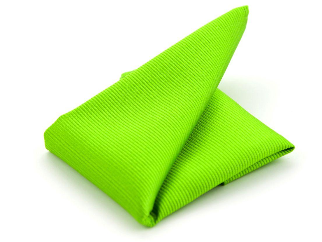 pochet zijde 33 groen