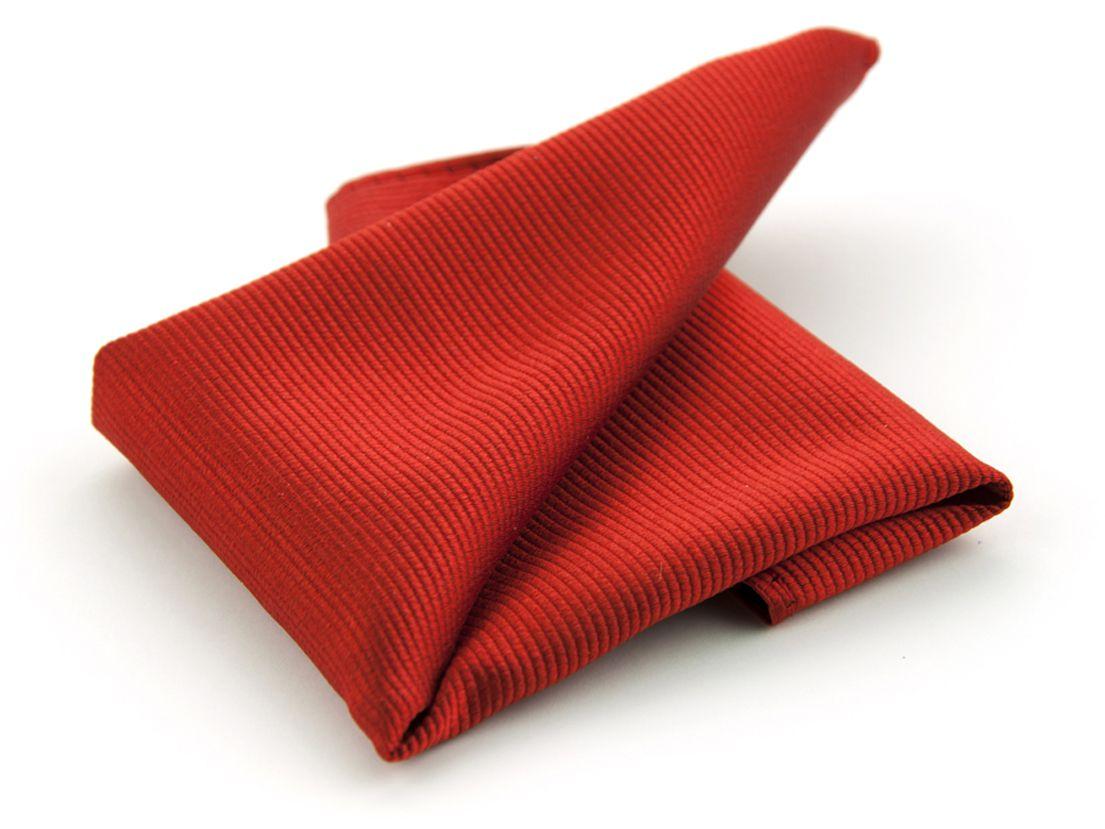 pochet zijde nos 34 rood