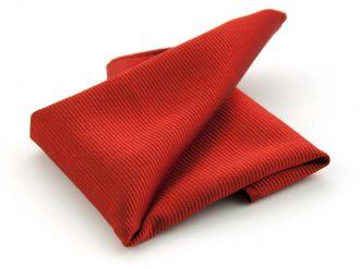 Pochet zijde NOS 34 - Rood