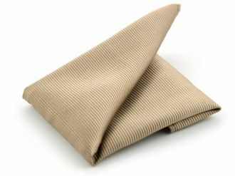 Pochet zijde NOS 54 - Khaki
