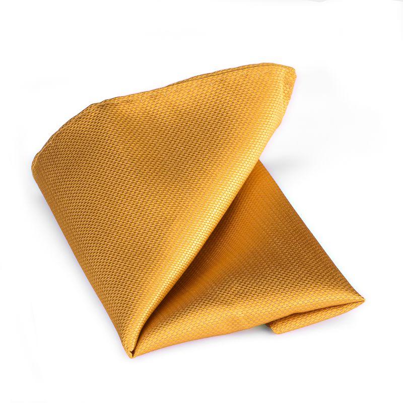 pochet zijde nos 8 goudgeel