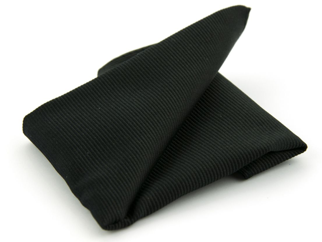 pochet zijde nos 8 zwart