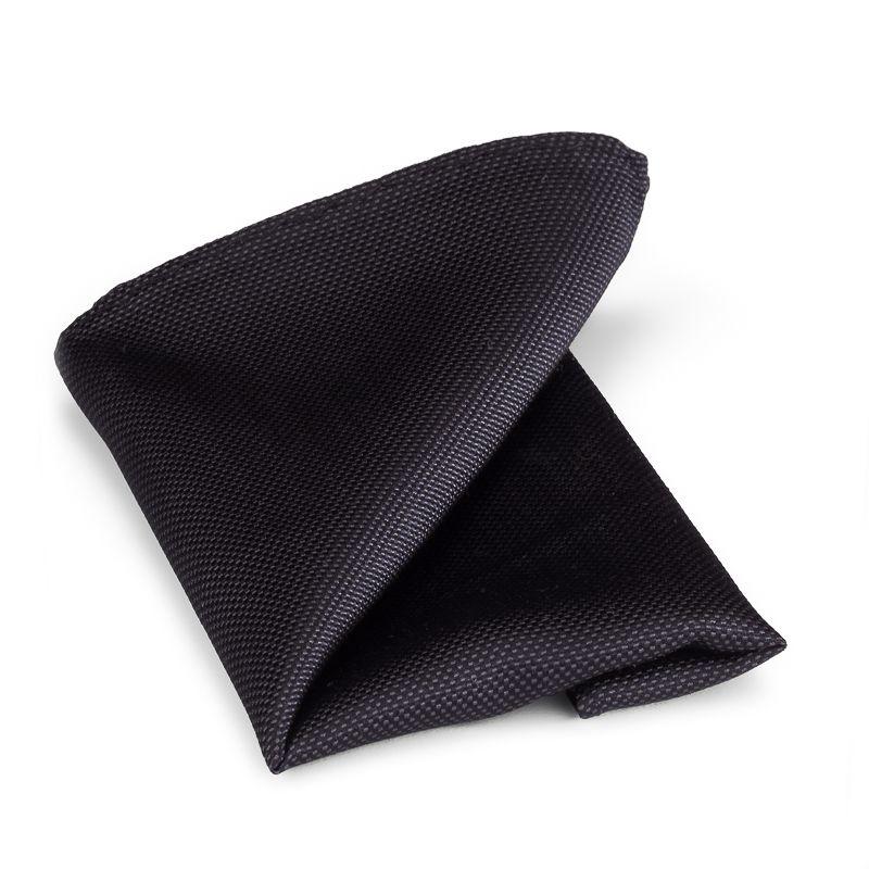 pochet zijde 15 zwart