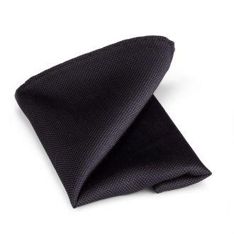 Pochet zijde 15 - Zwart
