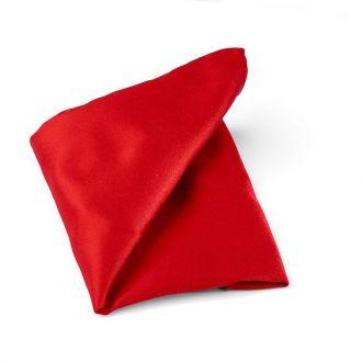Pochet zijde/satijn Progetto NOS 1 - Rood