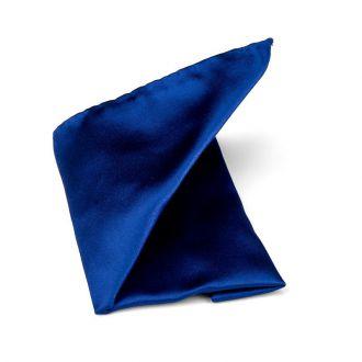 Pochet zijde/satijn Progetto NOS 5 - Kobalt