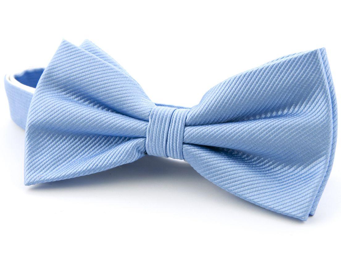 strik zijde nos 2 lichtblauw