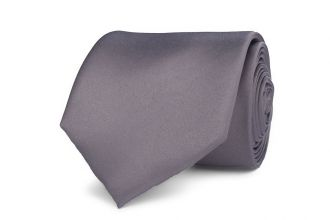 Stropdas polyester-satijn 1004 Licht Grijs