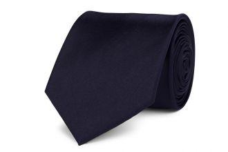 Stropdas polyester-satijn 260 Donker Marine