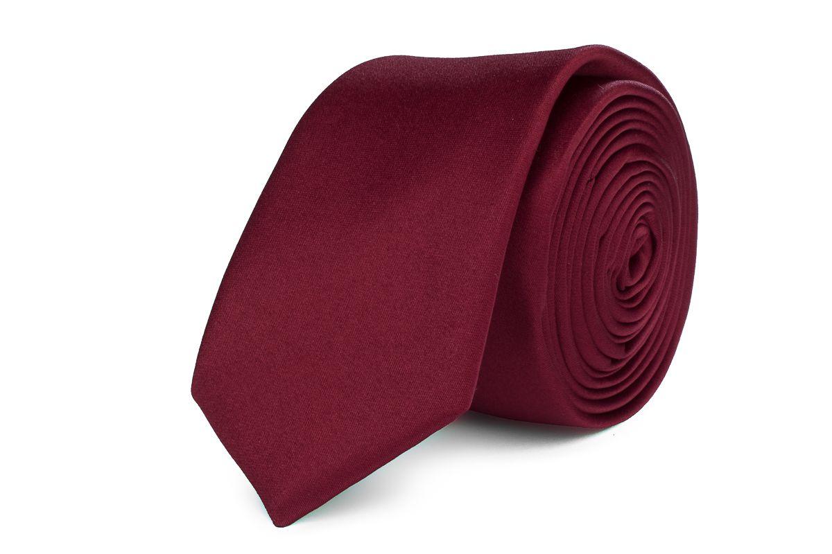 stropdas polyestersatijn 914 bordeaux
