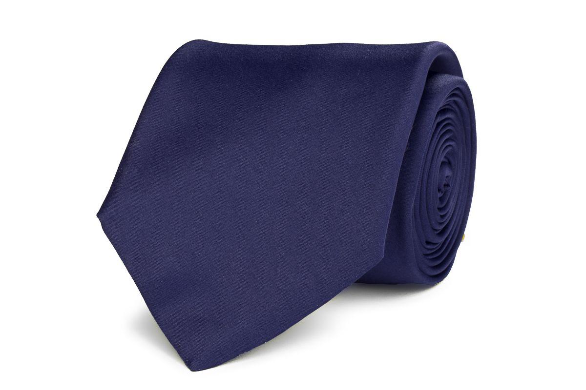 stropdas polyestersatijn 922 marine