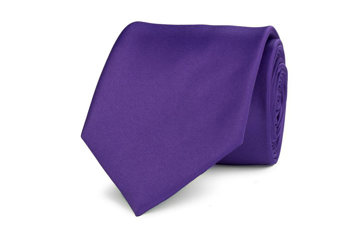 stropdas polyestersatijn 948 paars
