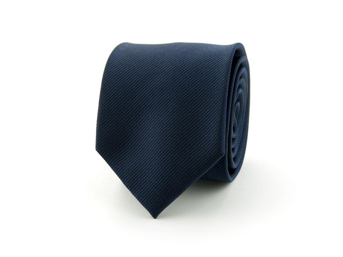 stropdas polyester uni nos marine