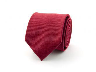 Stropdas polyester uni NOS Middenrood
