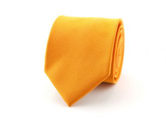 Stropdas polyester uni NOS Oranje