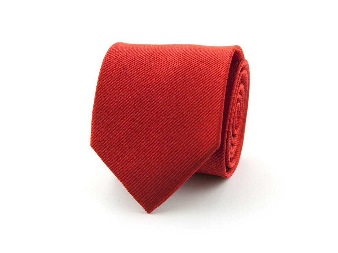 stropdas polyester uni nos rood