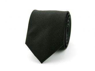 Stropdas polyester uni NOS Zwart