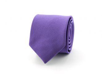 Stropdas polyester uni Paars