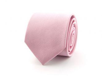 Stropdas polyester uni Roze