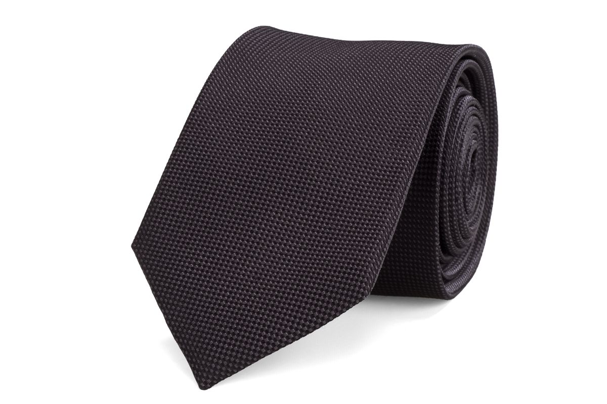 stropdas zijde nos 10 antraciet