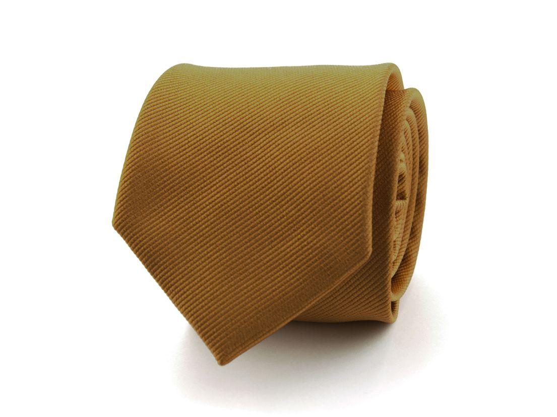 stropdas zijde nos 12 bruin