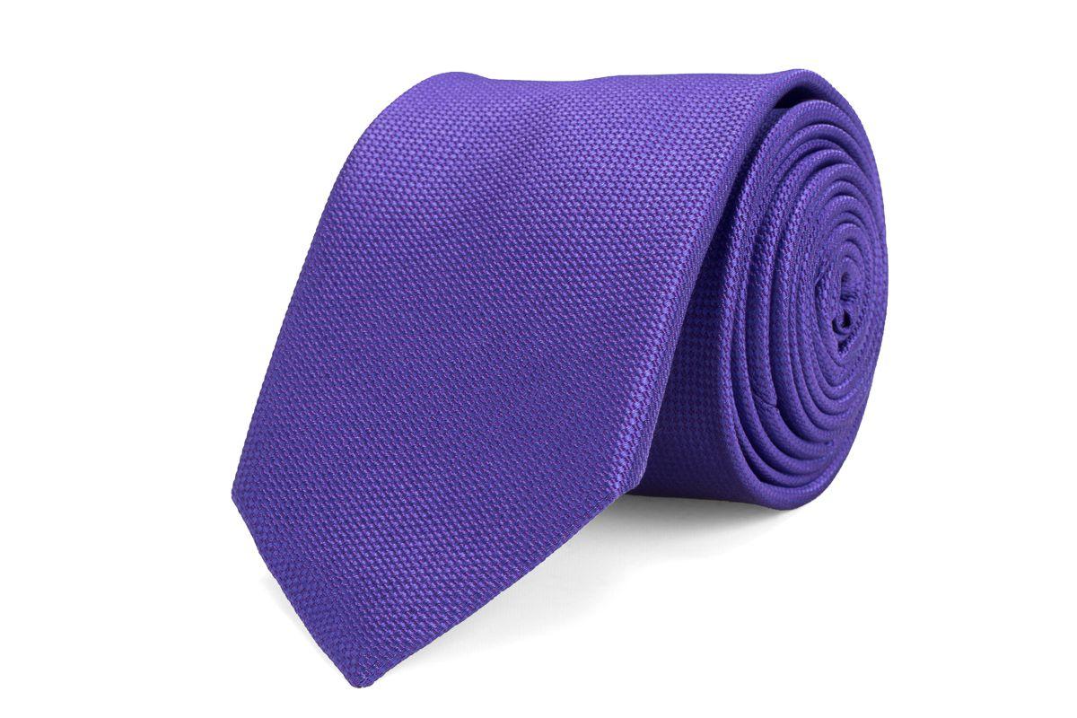 stropdas zijde 12 paars