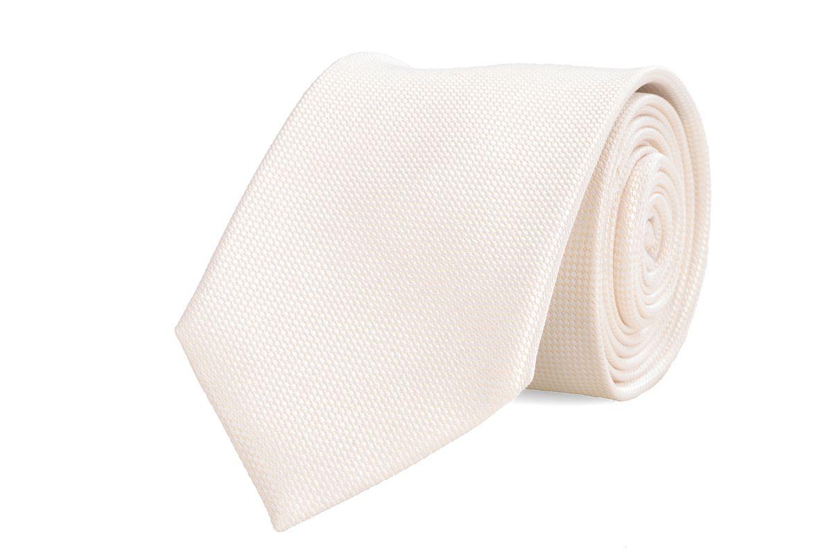 stropdas zijde nos 17 offwhite