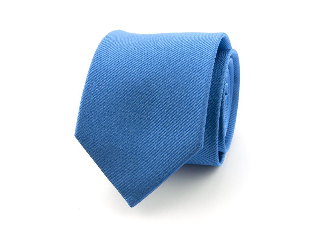 stropdas zijde 19 blauw