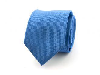 Stropdas zijde 19 - Blauw