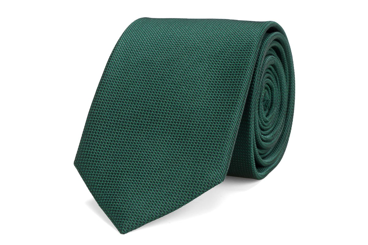 stropdas zijde nos 19 groen