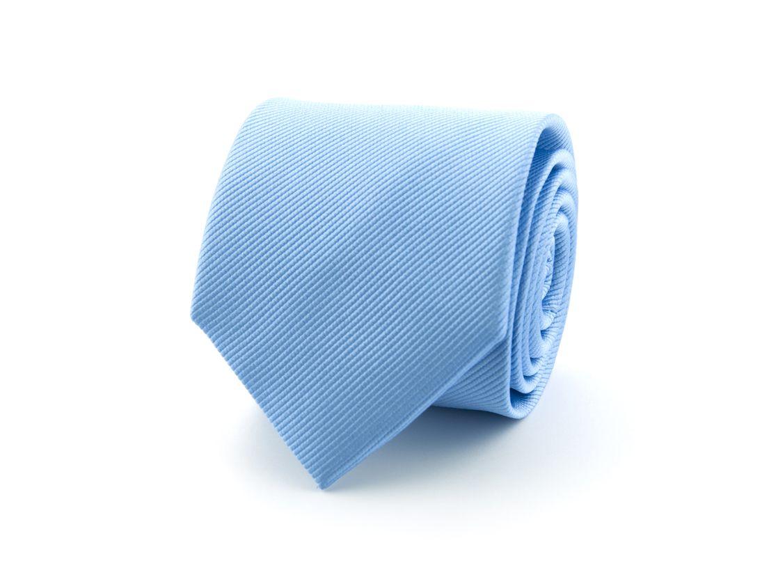 stropdas zijde nos 2 lichtblauw