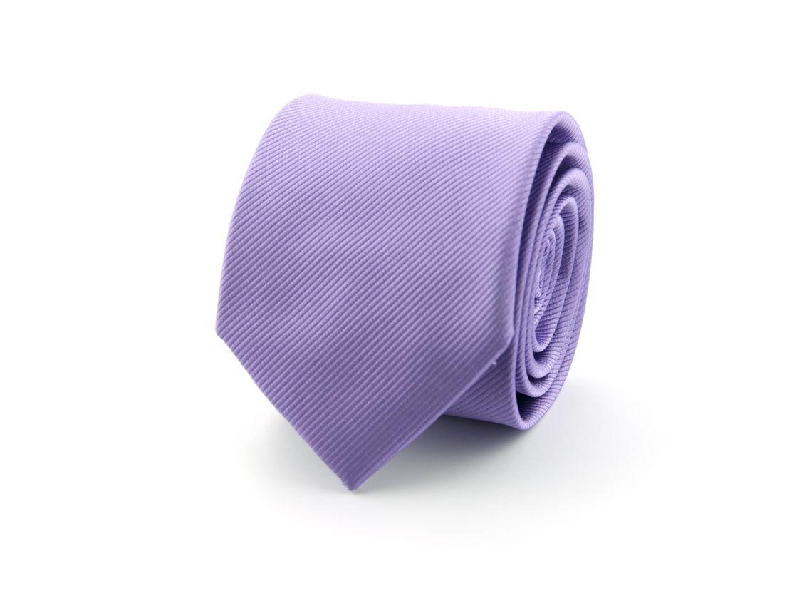stropdas zijde nos 26 lila