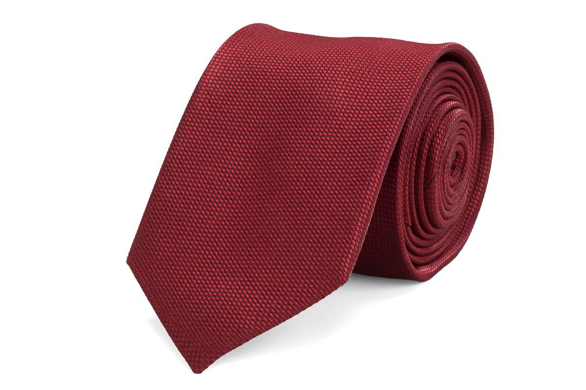 stropdas zijde nos 3 bordeaux