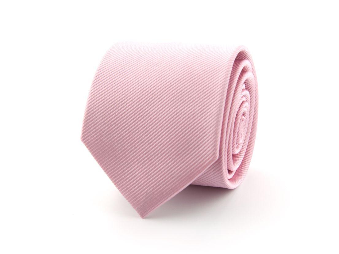 stropdas zijde nos 3 roze