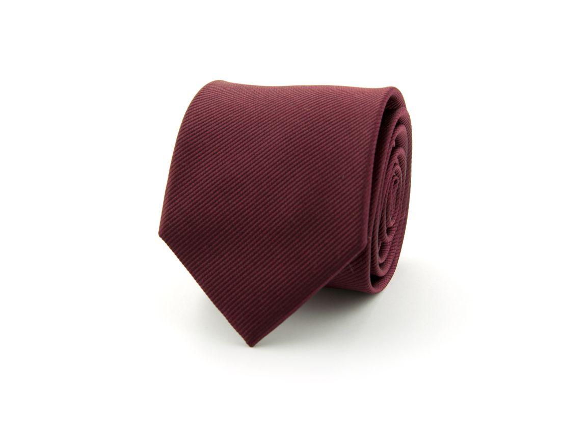 stropdas zijde nos 31 bordeaux