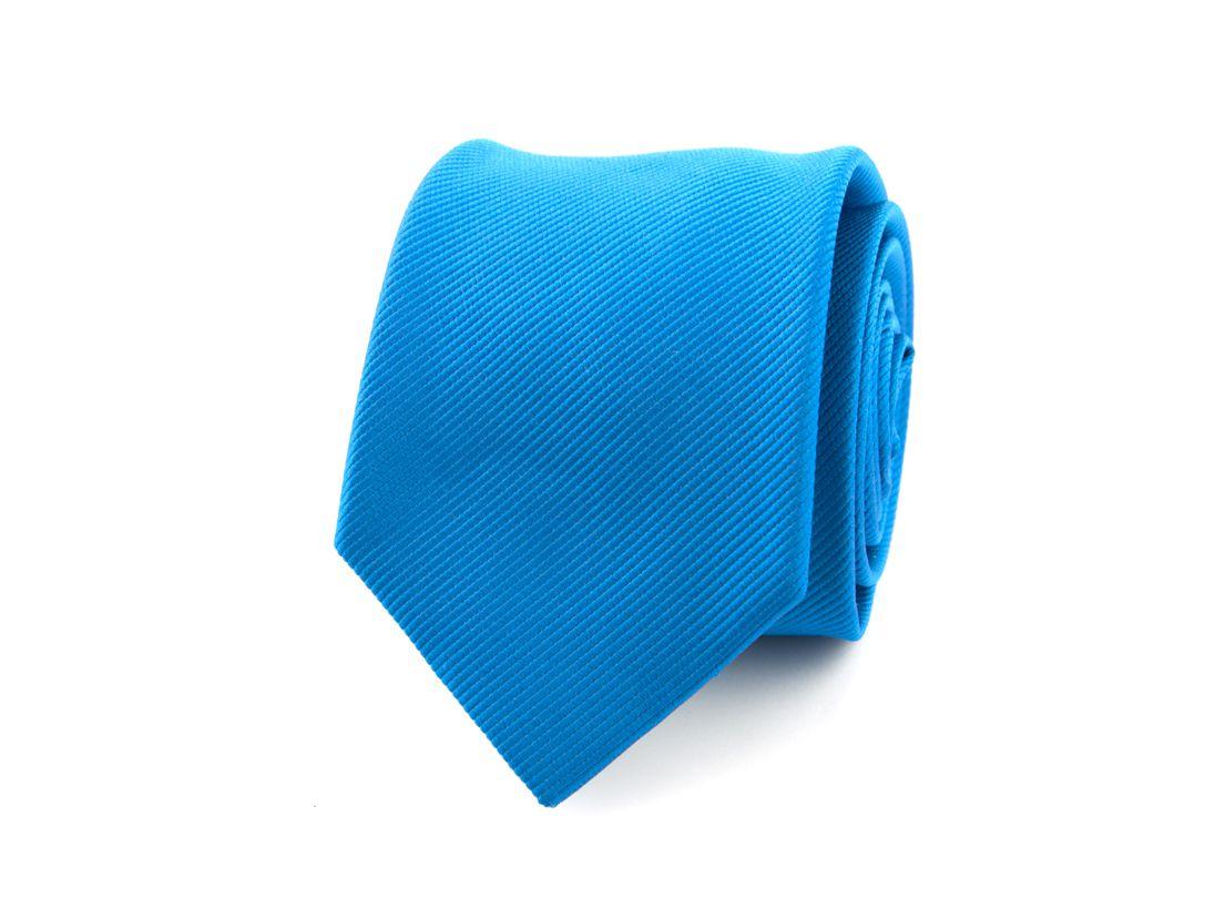 stropdas zijde nos 32 blauw
