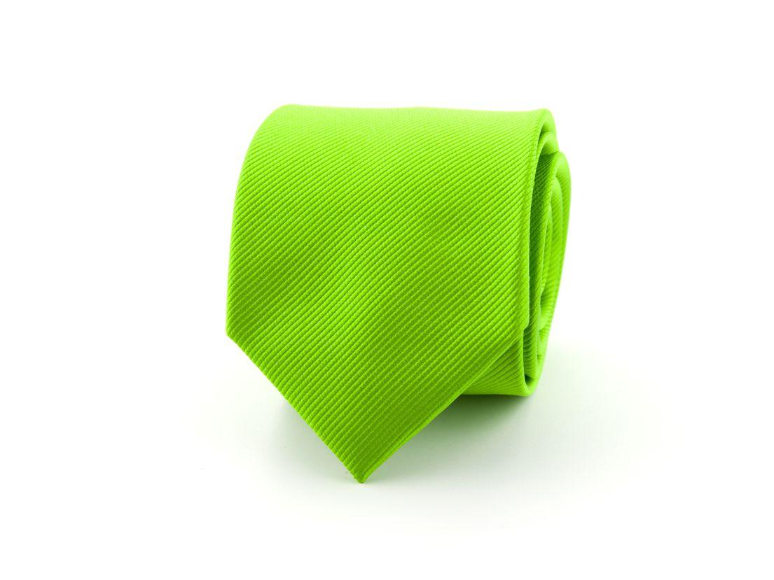 stropdas zijde 33 groen