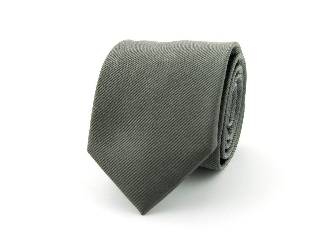 stropdas zijde 53 antraciet
