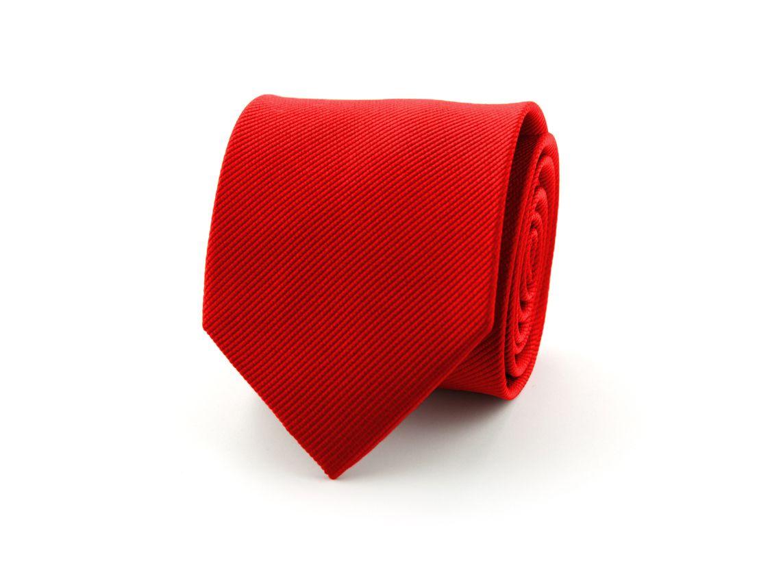 stropdas zijde 71 rood