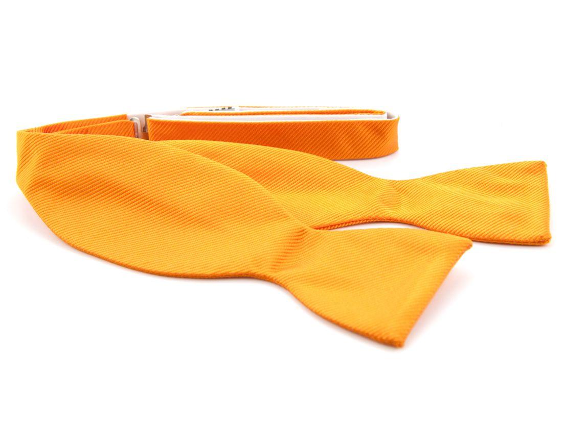 zelfstrikker zijde 1 oranje
