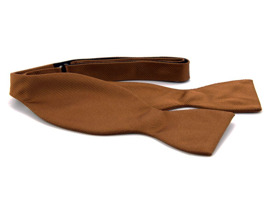 zelfstrikker zijde 12 bruin