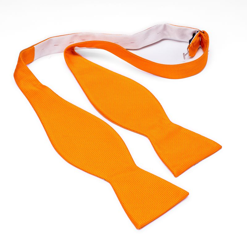 zelfstrikker zijde 13 oranje
