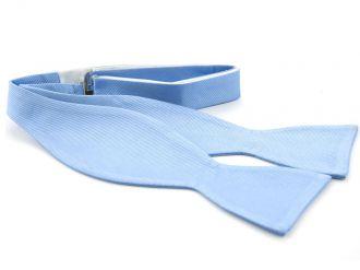 Zelfstrikker zijde (UITLOPEND) 2 - Lichtblauw