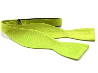 Zelfstrikker zijde (UITLOPEND) 4 - Lime