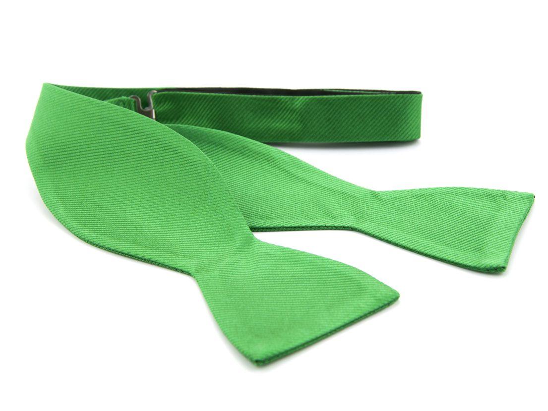 zelfstrikker zijde 68 groen