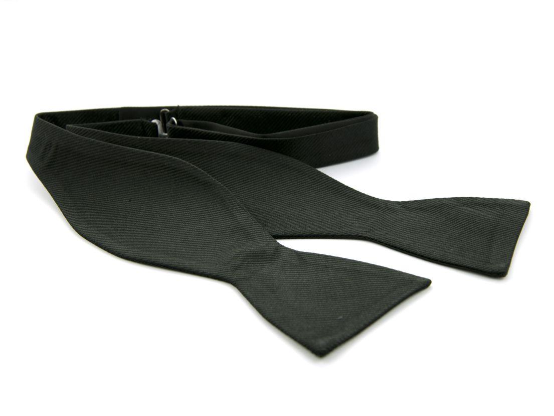 zelfstrikker zijde 8 zwart